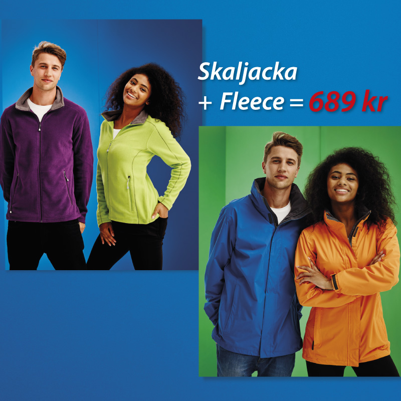 Skaljacka + Fleece